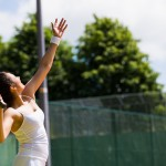 Steady Tennis Player